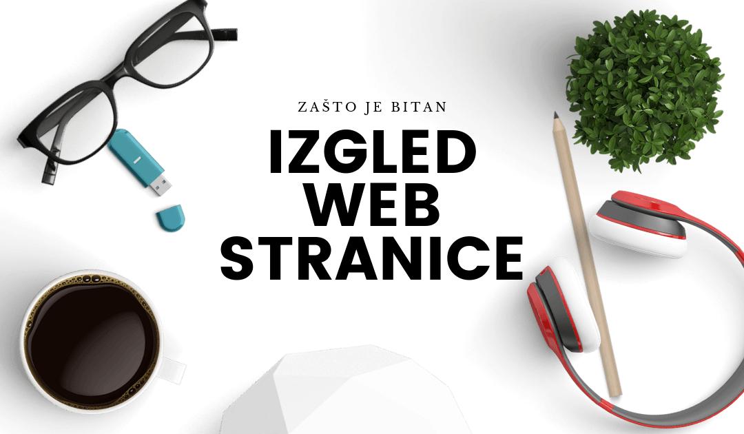 Izgled web stranice